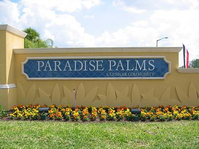 paradise palms entrance